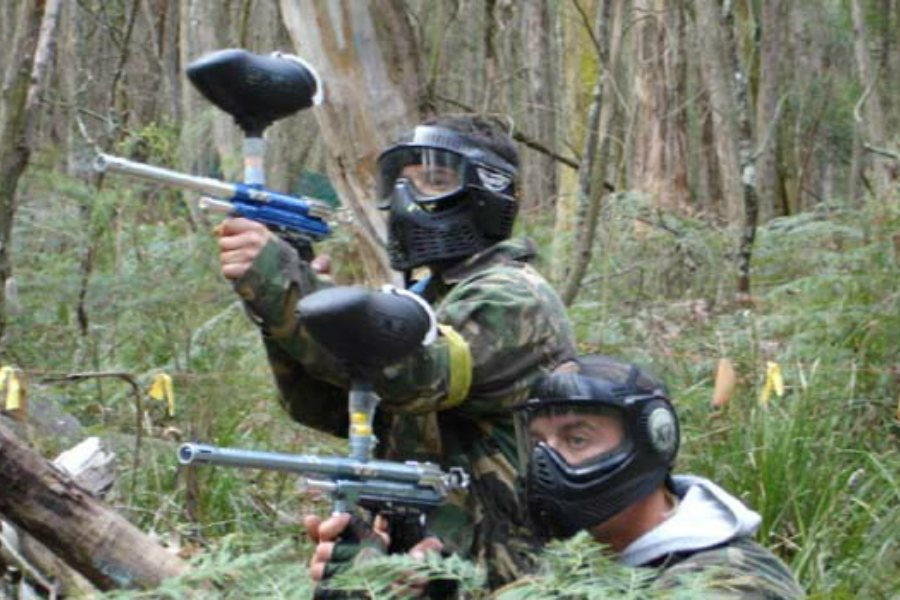 partidas de paintball