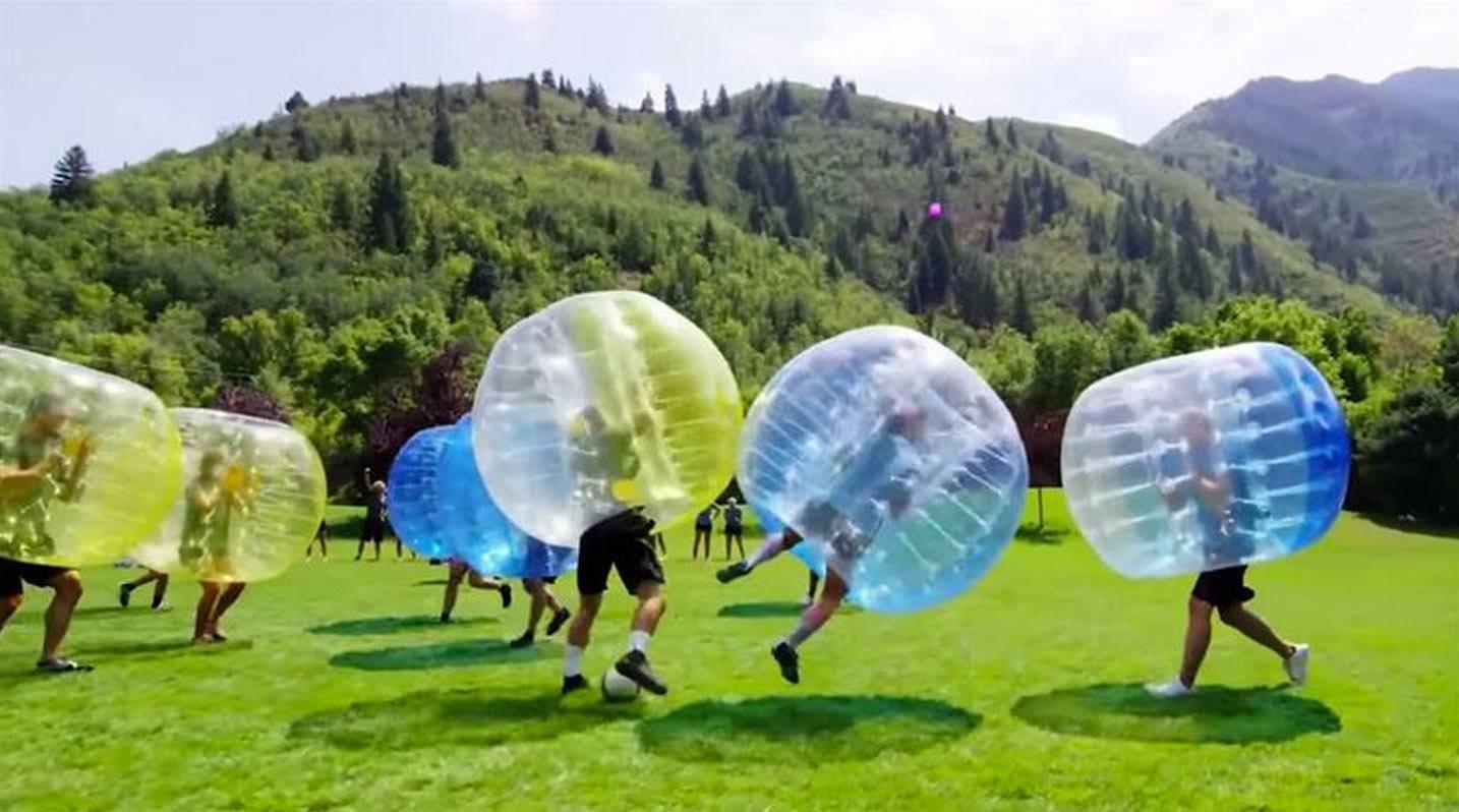 Fu00fatbol burbuja para una despedida - Despedidas Galicia
