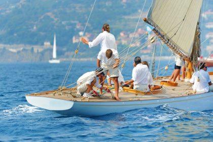 barcos en sanxenxo - veleros